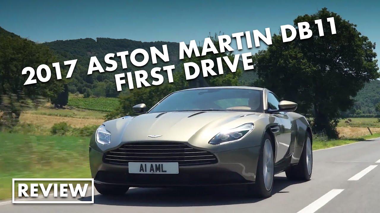 2017 Aston Martin Db11 First Drive Youtube