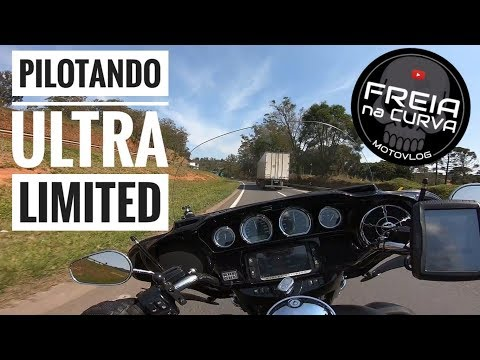 [Freia Na Curva] Pilotando Uma Touring Ultra Limited 107 | HARLEY-DAVIDSON