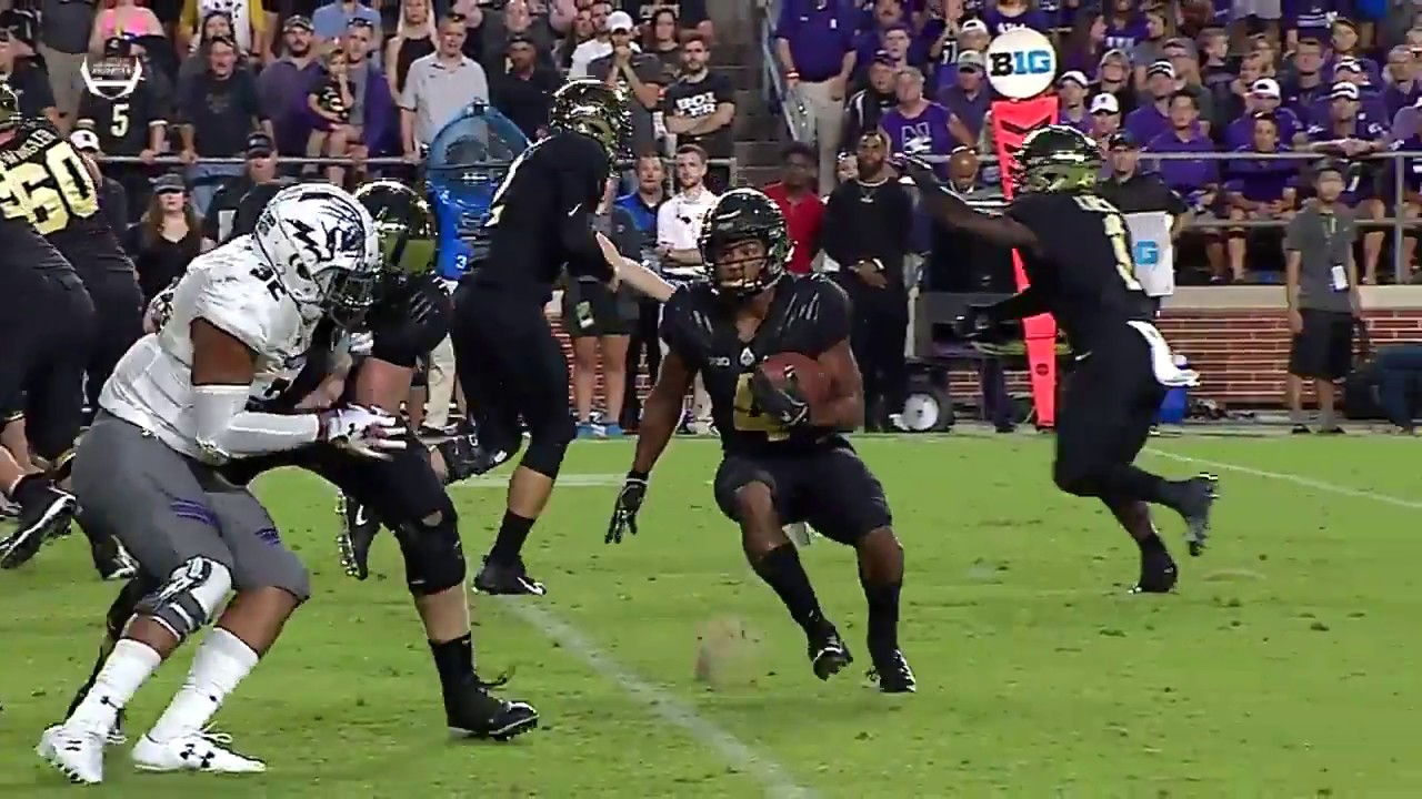 Top Plays: Rondale Moore Sets a Purdue Single-Game Yards Record vs. Northwestern | Big Ten Football