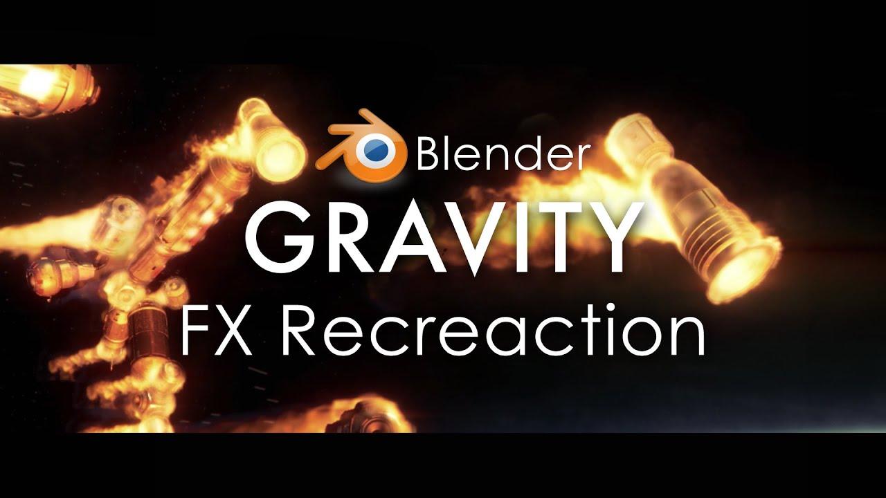 Download Gravity Reentry FX Recreation | Blender 3D