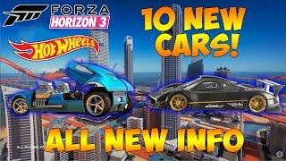 Video Forza Horizon 3 - HOT WHEELS EXPANSION - ALL 10 CARS & INFORMATION! download MP3, 3GP, MP4, WEBM, AVI, FLV Januari 2018