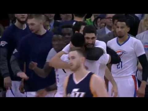 Oklahoma City Thunder vs Utah Jazz | January 23, 2017 | NBA 2016-17 Season