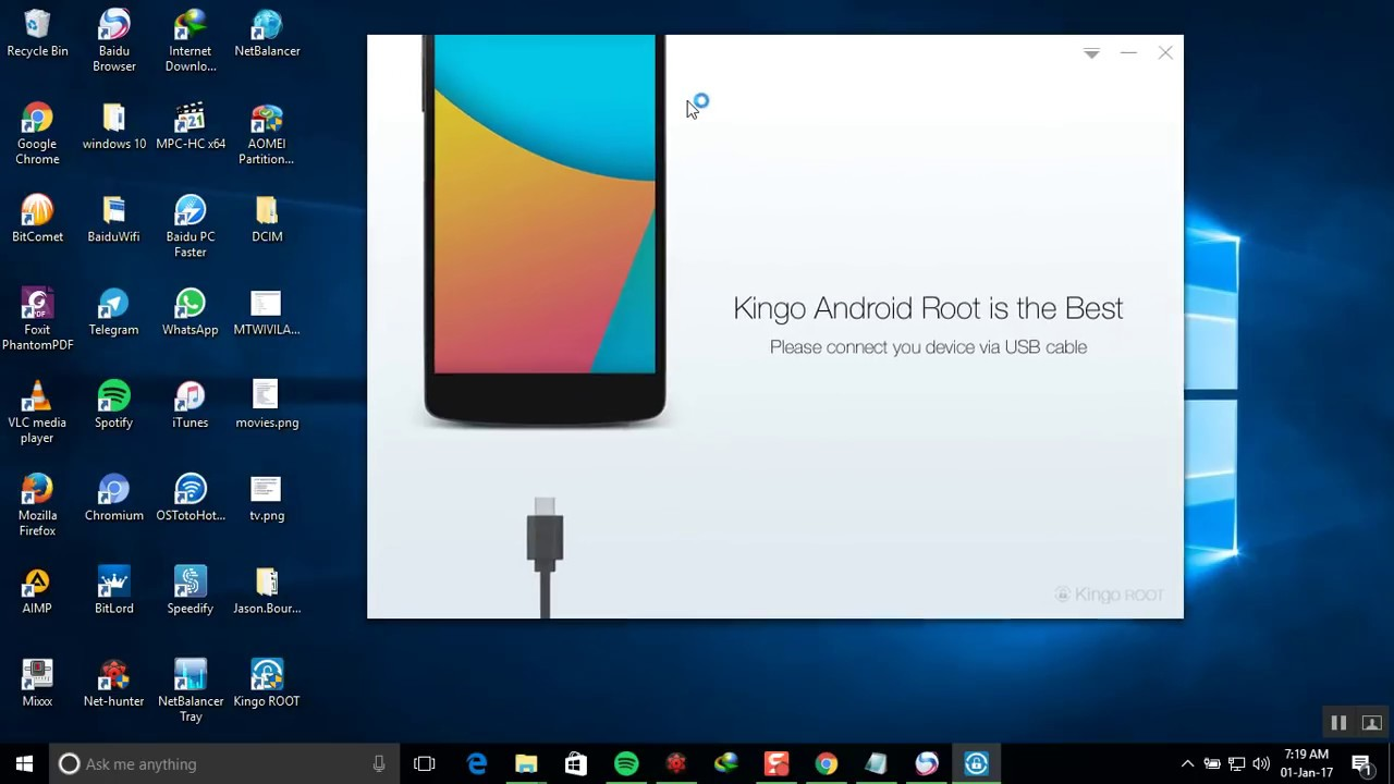 android kingo root pc