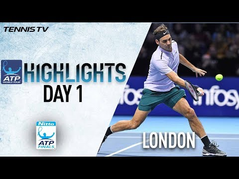Highlights: Federer Gets Off To Winning Start In London Nitto ATP Finals 2017