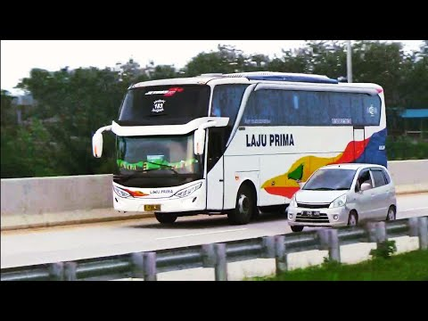 Bus Bus Keren Yang Melewati Tol Batang Semarang
