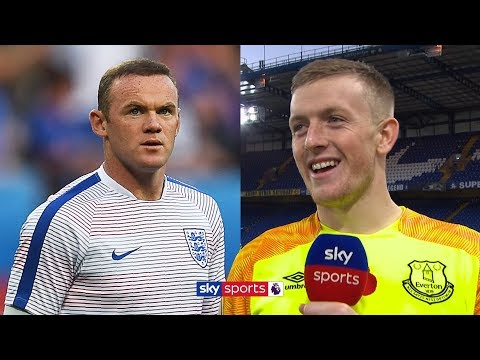 Jordan Pickford on Wayne Rooney's England call-up and the Merseyside derby | Exclusive Interview
