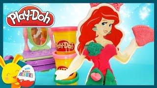 Ariel la petite sirène - Pâte à modeler Princesses Play-doh - Titounis