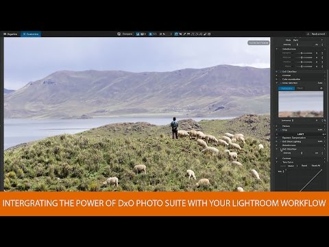 How to Integrate The Power of DxO Photo Suite with Your Lightroom Workflow