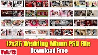 Download Free 12x36 Wedding Album  For Photoshop Vol#13 [desimesikho] 2019