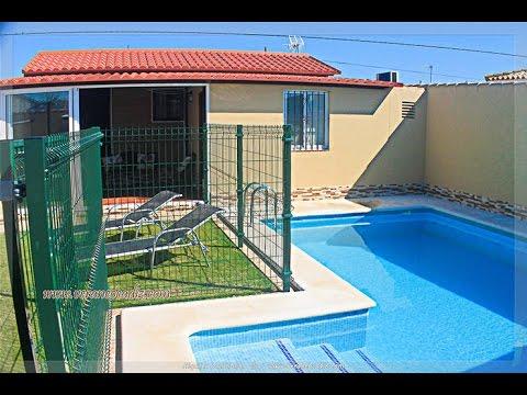 alquiler de vacaciones en bungalow con piscina privada