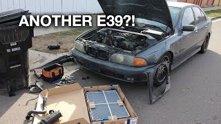 Buying a cheap $1500 BMW E39 540i 6-speed in San Diego!