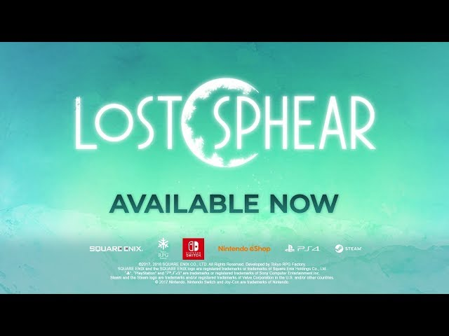 Lost Sphear - A New Moon Rises Launch Trailer