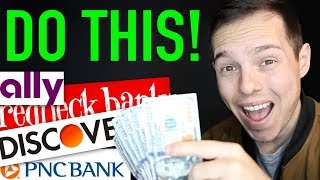 I FOUND THE 5 BEST BANK ACCOUNTS!