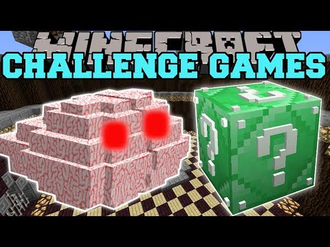 Minecraft: BRAIN CHALLENGE GAMES - Lucky Block Mod - Modded Mini-Game