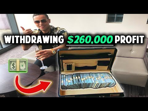 Rich Forex Trader Withdraws $260,000 Trading Profits