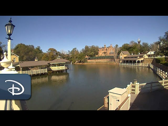 Time-Lapse: Rivers of America Ready for The Liberty Belle at Magic Kingdom Park | Walt Disney World