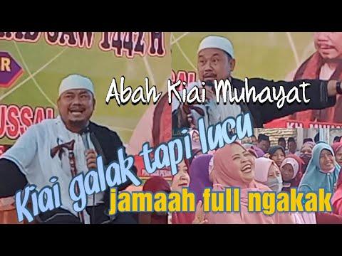 Download Kiai galak tapi lucu,Jamaah full ngakak.Ceramah terbaru Abah Kiai Muhayat dari Rumbia lam-teng