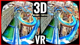 VR 3D Roller Coaster VR Video 3D SBS [Google Cardboard VR Box 3D] Virtual Reality Videos 3D 4K