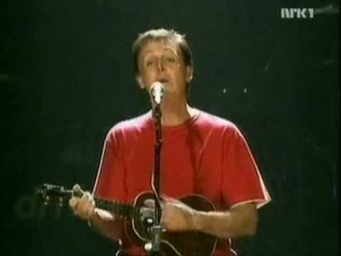 Something - Paul McCartney Back In The U.S. (Live 2002)