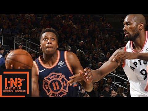 Toronto Raptors vs New York Knicks Full Game Highlights / March 11 / 2017-18 NBA Season