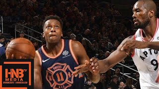 Toronto Raptors vs New York Knicks Full Game Highlights / March 11 / 2017-18 NBA Season