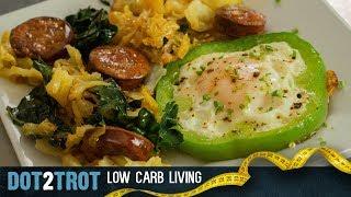 St. Patrick's Shamrock Eggs, Cabbage, & Smoked Chorizo