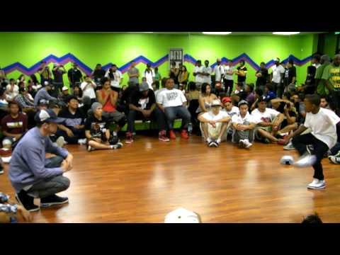 The Other Dancer Guy (C-Bass) vs Kida (Sacramento) at Bring Back The Funk 2011