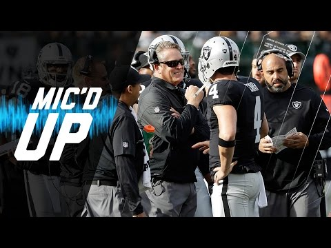 Jack Del Rio Mic'd Up in Week 12 Win vs. Panthers  Sound FX  NFL Films