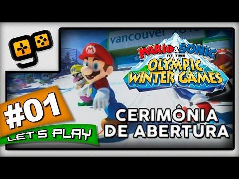 Let's Play: Mario & Sonic Winter Games 2010 - Parte 1 - Cerimônia de Abertura