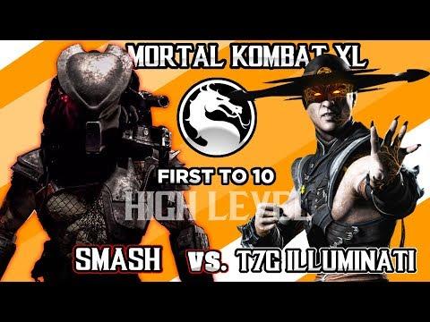 HIGH LEVEL MORTAL KOMBAT SET - SMASH702 (Predator) Vs T7G | illuminati (Kung Lao) - FT10 thumbnail