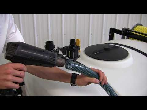 Installing A Modular Spray Tank & 3-Way Valves