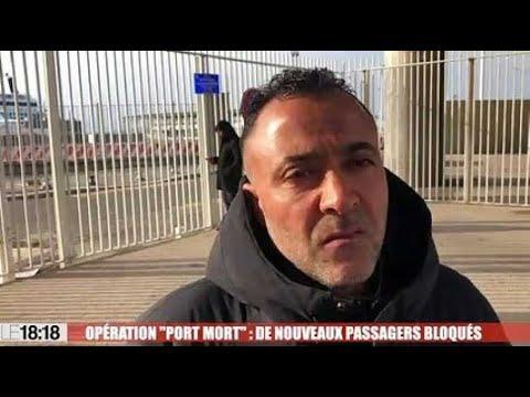 Marseille: de nouveaux passagers bloqués sur le port