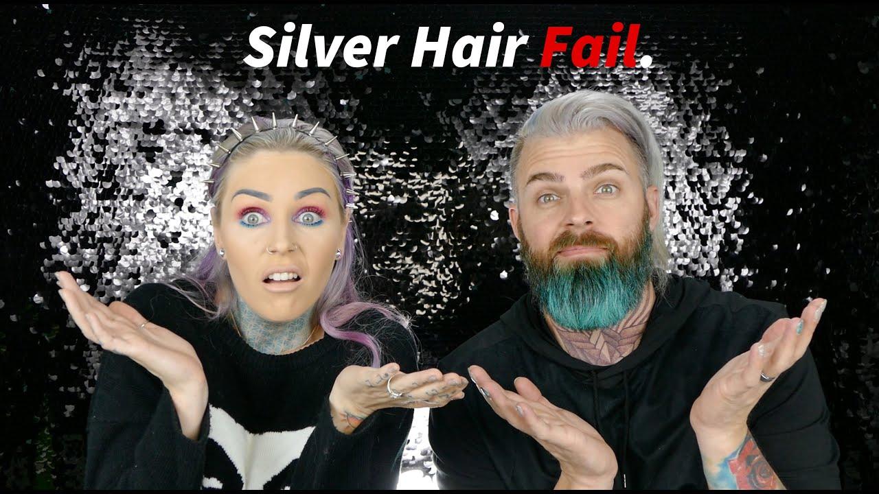 Arctic Fox Silver Grey Hair Color Fail Bloopers