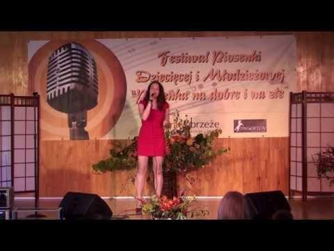 Agata Buczkowska - Kiedyś byłam różą (Festiwal piosenki Szczecin)
