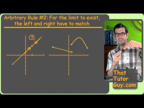 Does The Limit Exist? -- Calculus -- ThatTutorGuy.com