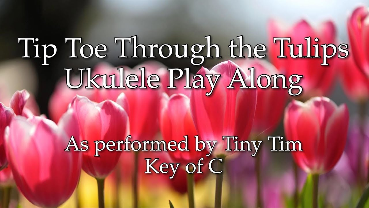 """Al dubin """"tip-toe thru' the tulips with me"""" sheet music notes."""