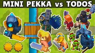 MINI PEKKA vs TODAS LAS CARTAS | 1 vs 1 | OLIMPIADAS de CLASH ROYALE