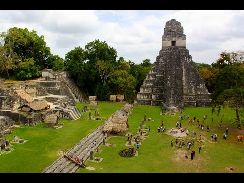 GUATEMALA - TIKAL - ANCIENT CITY OF MAYAN IN RAINFOREST (Full HD)