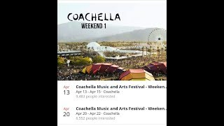 Coachella Valley Music And Arts Festival 2018 Live, All Artists Lineup Beyonce, Eminem E.t.c