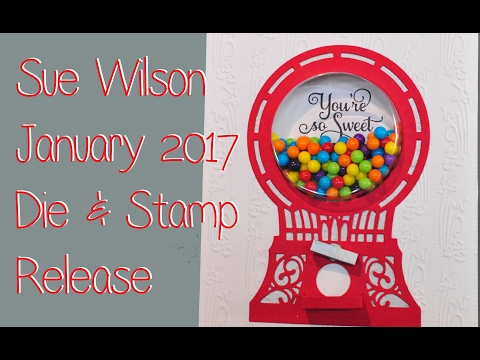 Sue Wilson January 2017 Release Haul Review