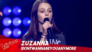 Zuzanna - 'idontwannabeyouanymore' | Blind Auditions | The Voice Kids Belgique