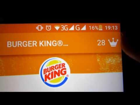 Как бесплатно поесть в Burger King   Бесплатная еда в Бургер Кинг