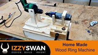 How To Make a Wood Ring Making Machine