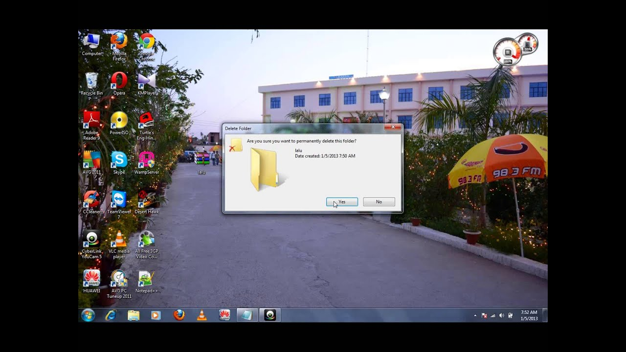 how to give password to folder in windows xp
