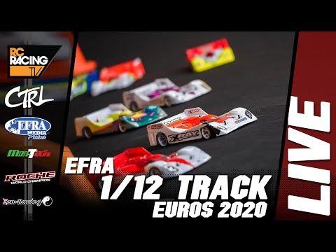 EFRA 1/12th Track Euros 2020 - Sunday  - FINALS DAY