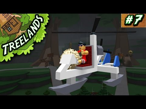 Treelands Ep. 7: Finding Durians w/ Gyrocopter! | Roblox