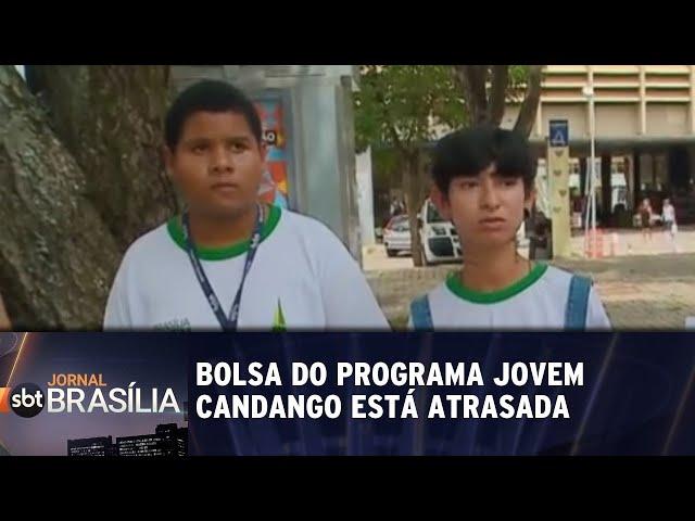 Bolsa de estudantes do Programa Jovem Candango está atrasado | Jornal SBT Brasília 13/02/2019