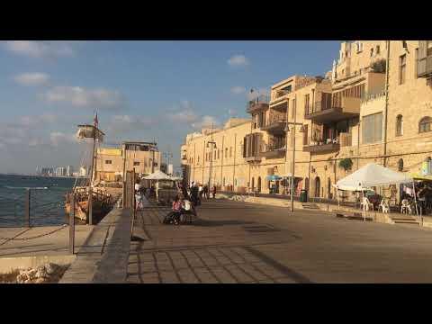Jaffa Port And Old Jaffa City Walk