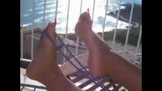 Repeat youtube video lady barbara feet