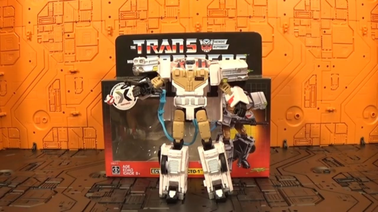 REVIEW - Ghostbusters Ecto-1 Ectotron Transformers Crossover